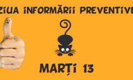 """Marți, 13 noiembrie: """"Ziua Informării Preventive"""" la ISU Alba"""