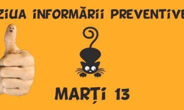 ISU Alba: Marți 13, Ziua Informării Preventive. Derularea unor activități informativ-educative