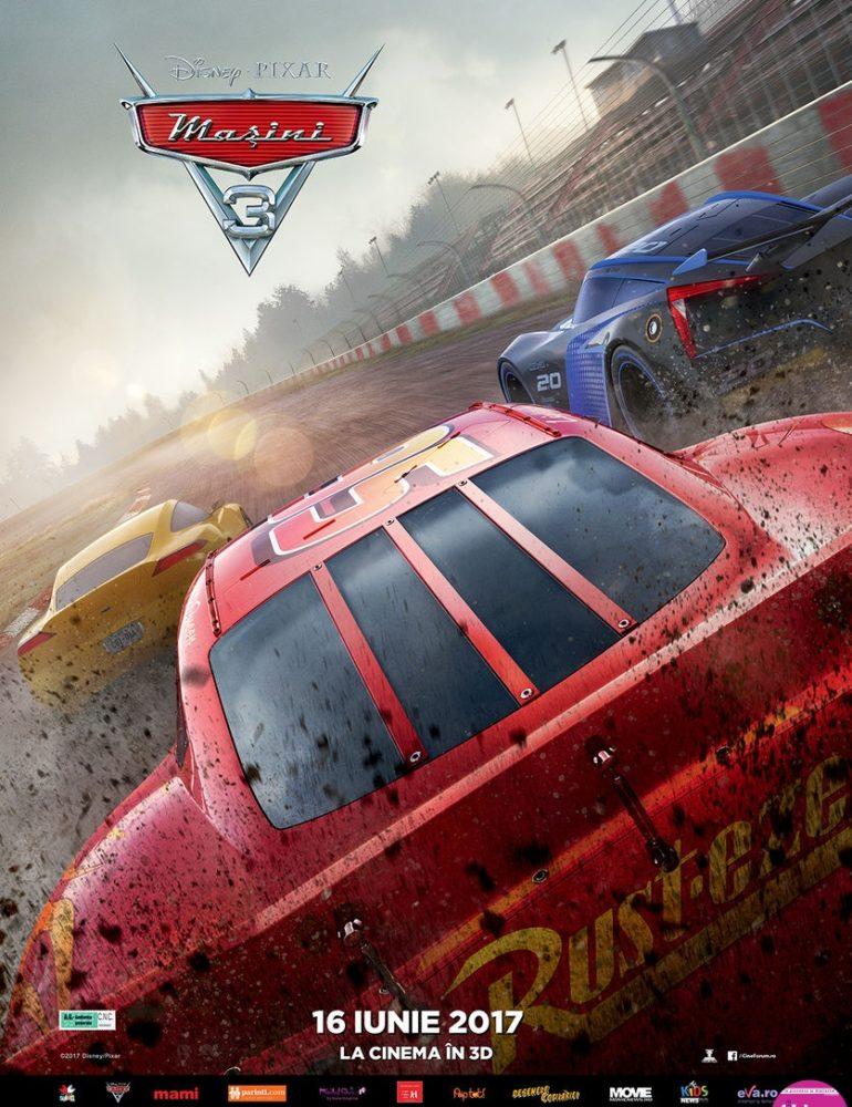 Mașini 3 [premieră la cinema din 16 Iunie]