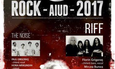Sâmbătă: Rock-Aiud 2017. Riff şi The Noise sunt aşteptaţi să urce pe scena din Piaţa Consiliul Europei