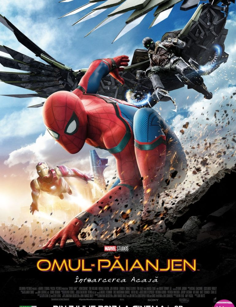Spider-Man: Homecoming 3D [premieră la cinema din 7 Iulie]