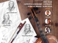 """ASTĂZI: """"Dialogul viorilor"""", la Catedrala Romano-catolică din Alba Iulia. Orchestra de Cameră """"Augustin Bena"""" susține un concert extraordinar"""
