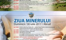 """În weekend: Festivalul concurs național de folclor ,,Inimi fierbinți în Țara de Piatră"""" și """"Ziua Minerului"""", la Abrud. Program"""