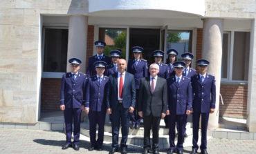 FOTO: Zece polițiști, absolvenți ai Școlilor de Poliție, promoția 2017 și-au început activitatea la IPJ Alba