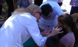FOTO DSP Alba: 80 de copii din satul Silivaș, comuna Hopârta, au fost vaccinați împotriva rujeolei