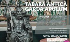 În weekend, Garda Apulum continuă tradiţionalele evenimente, la Alba Iulia. Reprezentaţie de reenactment și tabără antică