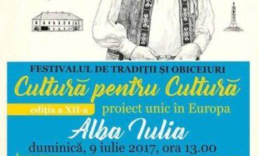 """VIDEO: Etapa finală a festivalului-concurs """"Cultură pentru Cultură"""" 2017, la Alba Iulia. 25 de comunităţi locale se întrec fiecare cu ce are mai de preț în materie de tradiții și obiceiuri"""