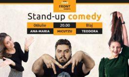 JOI: Stand-up comedy Micutzu, Ana- Maria şi Teodora, la Casa de Cultură din Blaj