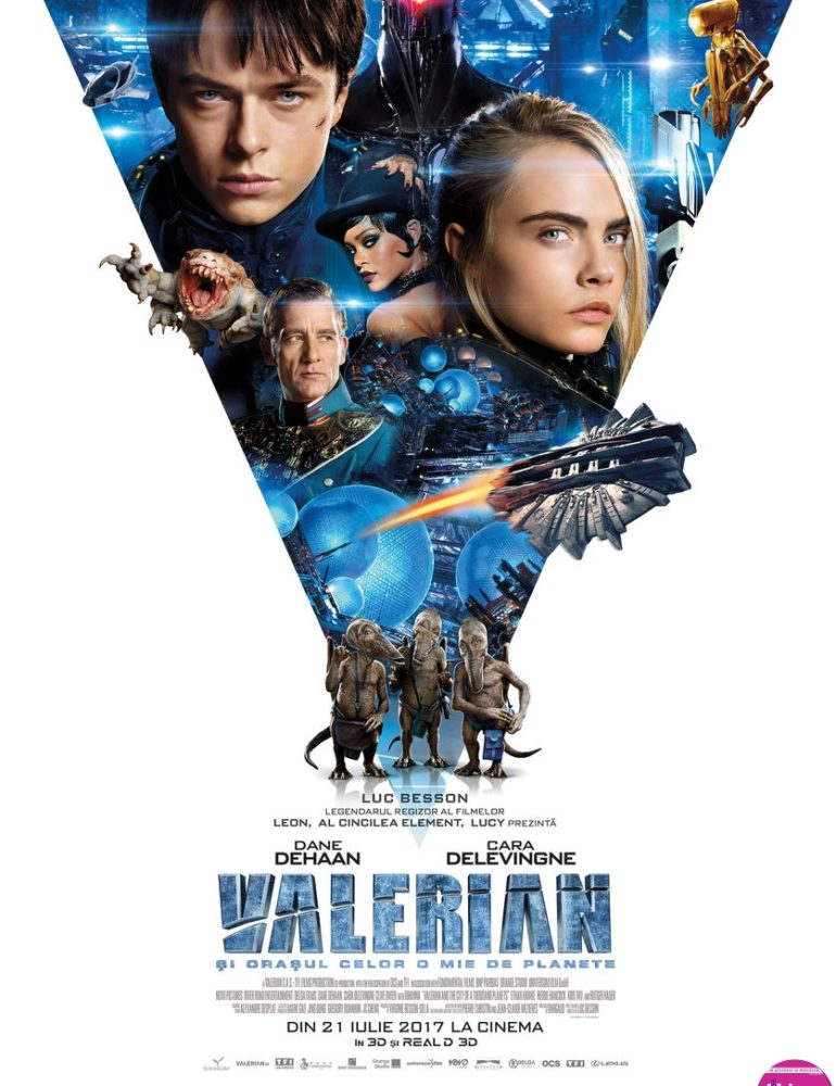 Valerian and the City of a Thousand Planets 3D [premieră la cinema din 21 Iulie]