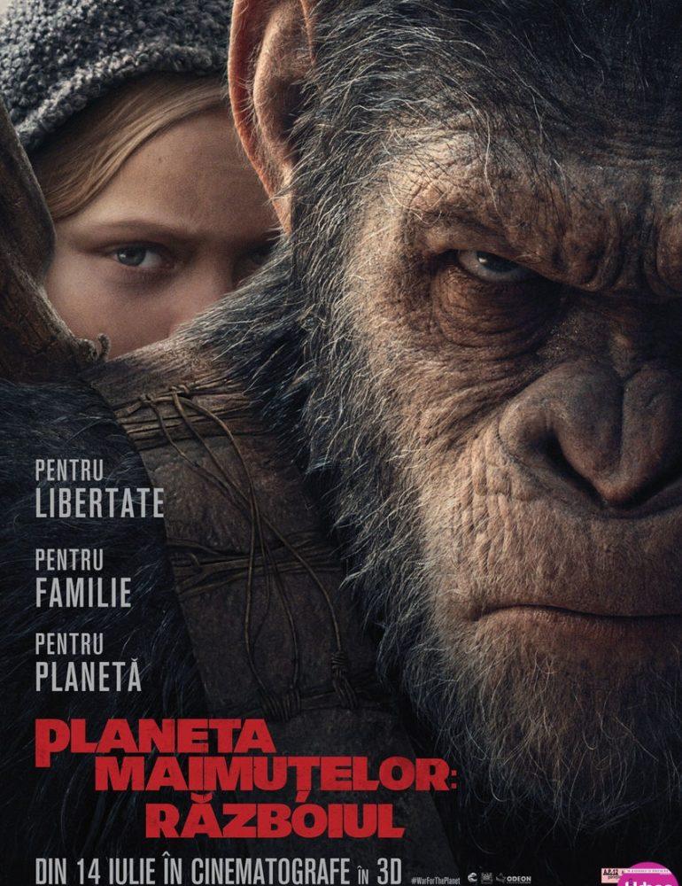 War for the Planet of the Apes 3D [premieră la cinema din 14 Iulie]