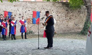 FOTO-VIDEO: Zilele Municipiului Sebeş. Scenete, simulări de luptă şi dansuri medievale, la deschiderea oficială