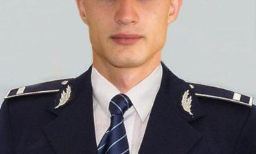 FOTO: Agentul de poliţie Radovici Liviu Dan, polițistul zilei după ce a a sărit în râul Mureș și l-a salvat de la înec pe un tânăr de 16 ani