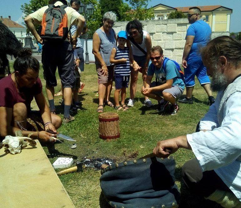 În weekend: Reprezentații de reenactment și tabără antică, susținute de Garda Apulum