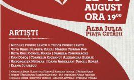 """12-13 august: Festivalul """"Cântec de Suflet"""" 2017, la Alba Iulia. Regal folcloric cu cei mai iubiți artiști ai României, în Piața Cetății"""