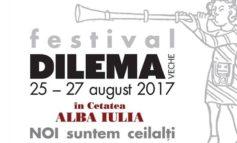 """25-27 august: Festivalul """"Dilema Veche"""", la Alba Iulia. Trei zile de muzică bună și momente speciale. PROGRAM"""