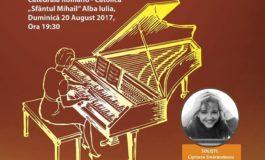 Duminică: Concert de clavecin susţinut de Cipriana Smărăndescu și Orchestra de Cameră a județului Alba, la Catedrala Romano-Catolică din Alba Iulia