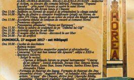 26-27 august: Târgul Lemnarilor, la Horea și Mătișești. Programul manifestărilor