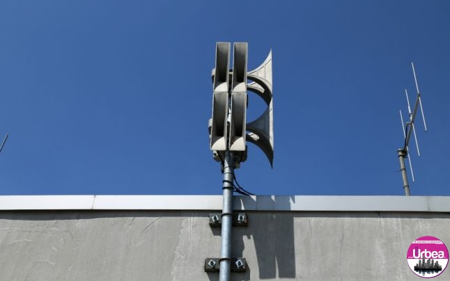 MIERCURI: Antrenament de alarmare publică prin acţionarea sirenelor de alarmă la Sebeş
