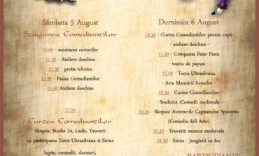 """5-6 AUGUST: A doua ediţie a Festivalului de Artă Medievală """"Zilele Medievale ale Bălgradului"""". PROGRAMUL"""