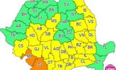 Atenţionare meteo: Cod Galben şi Portocaliu de caniculă şi furtuni, sâmbătă şi duminică, în judeţul Alba şi alte zone din ţară