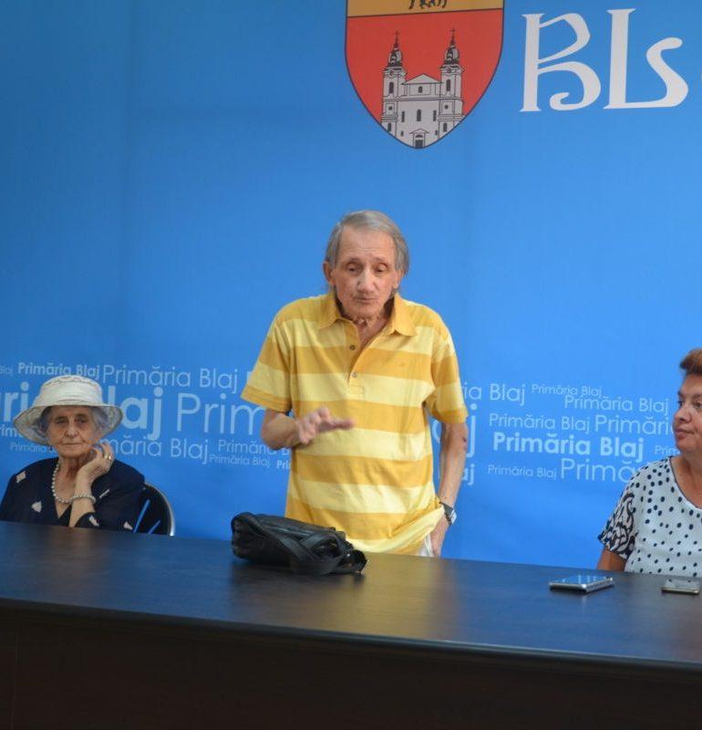 """S-a dat startul pentru cea de-a XXI-a ediție a Taberei Internaţionale de Artă """"Inocenţiu Micu Klein"""" Blaj"""