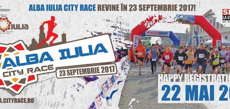 23 septembrie: A treia ediţie a competiţiei sportive Alba Iulia City Race 2017. Detalii despre înscrieri şi program