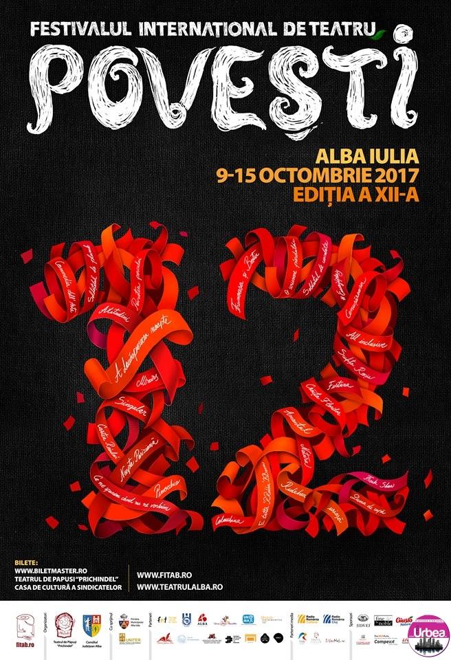 """9-15 octombrie: """"Poveştile"""" ajung din nou la Alba Iulia. Programul Festivalului Internaţional de Teatru """"Povești"""", ediţia a XII-a"""