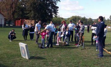 """FOTO: Activităţi sportive pentru iubitorii de sport şi mişcare în aer liber cu ocazia """"Săptămânii Europene a Sportului 2017"""", la Sebeş"""