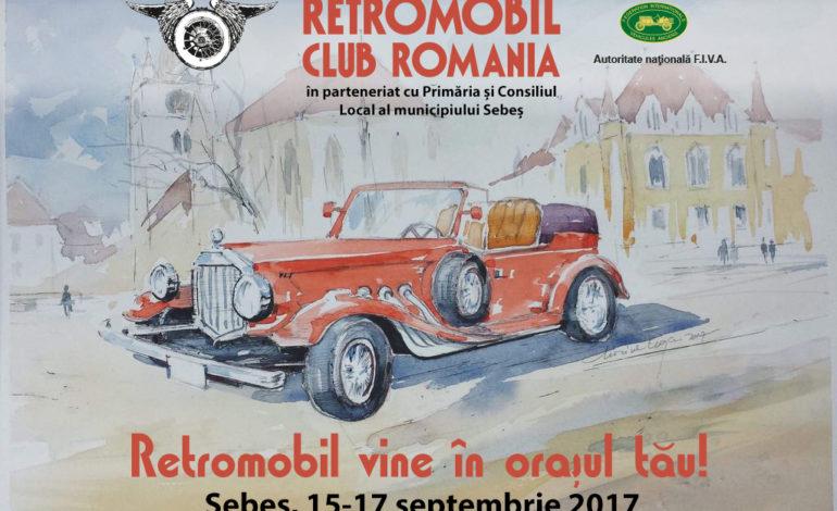 RETROMOBIL vine în orașul tău – 15-17 septembrie la Sebeș