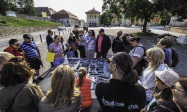 FOTO: O sută de pasageri au călătorit patru zile cu Transilvania Train, primul tren turistic din România