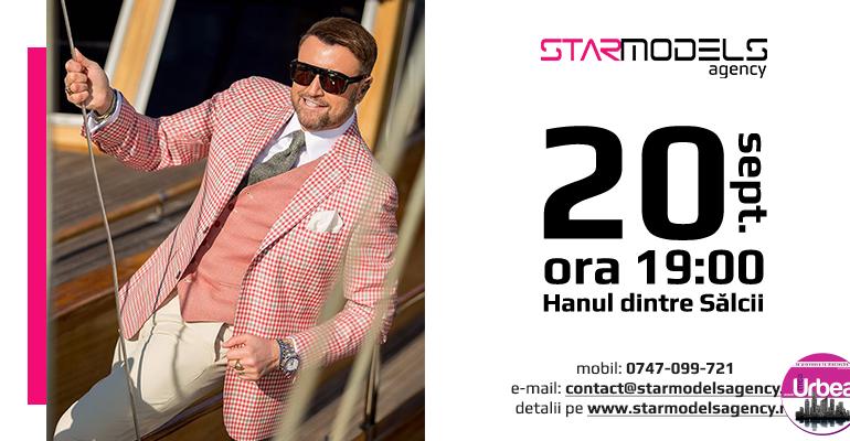 Astăzi: Star Models Agency îşi deschide porţile la Alba Iulia. Nume sonore din lumea modei îşi vor prezenta creaţiile la Hanul dintre Sălcii