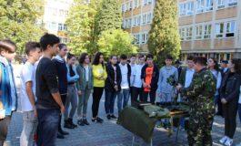 """FOTO: """"Cadet pentru o zi"""" la Colegiul Militar din Alba Iulia"""