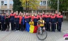 FOTO: Ştafeta Invictus a ajuns la Colegiul Naţional Militar din Alba Iulia