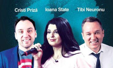 Sâmbătă, 25 noiembrie: O nouă porţie de râs, la Pub Skitt' 77 din Alba Iulia. Stand Up Comedy cu Cristi Priză, Ioana State şi Tibi Neuronu