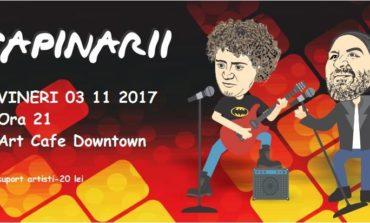 3 NOIEMBRIE: Concert Ţapinarii, la Alba Iulia. Andrei Tănase şi Cosmin Covei vă dau întâlnire în Art Cafe Downtown