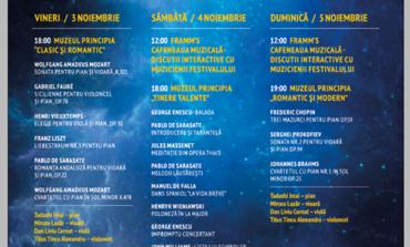 3-5 NOIEMBRIE: Festivalul de muzică de cameră, ediţia a II-a. Programul evenimentului