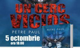 """JOI: Lansarea cărţii ,,Un cerc vicios"""", scrisă de Petre Paul, la Cafeneaua Gavroche din Alba Iulia"""