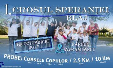 """15 octombrie: """"Crosul Speranţei"""" la Blaj. Eveniment caritabil, în sprijinul persoanelor cu dizabilităţi"""