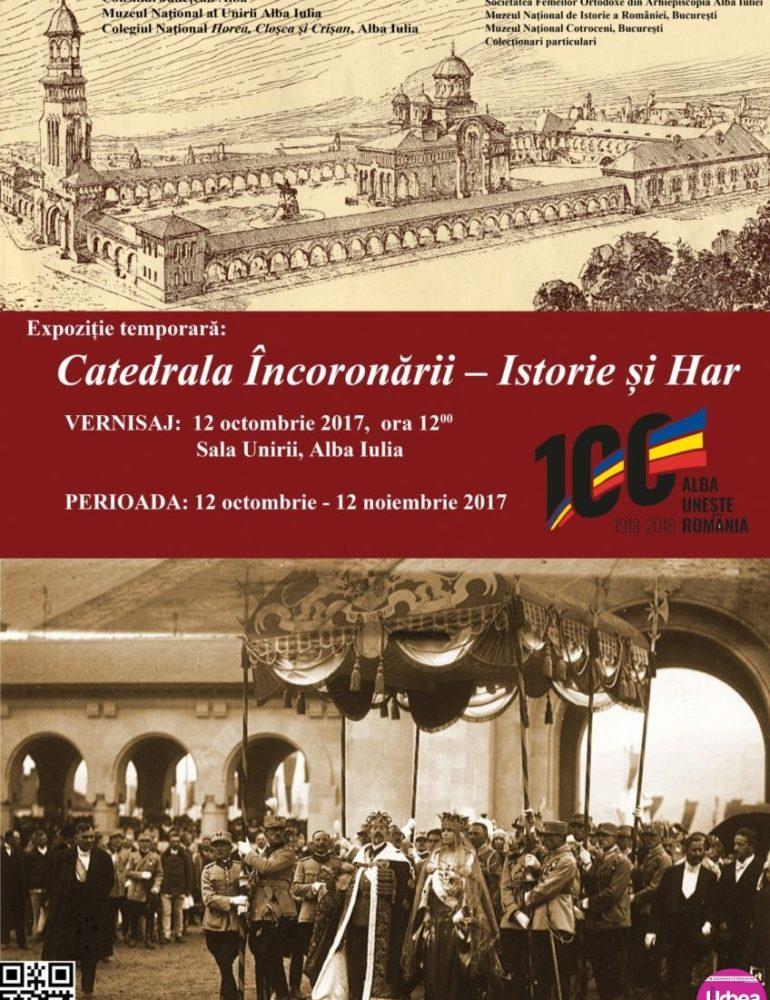 """JOI: Expoziția """"Catedrala Încoronării – Istorie și Har"""", la Sala Unirii din Alba Iulia"""