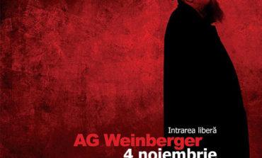 Sâmbătă, 4 noiembrie: AG Weinberger într-o prezență specială, la Sebeș