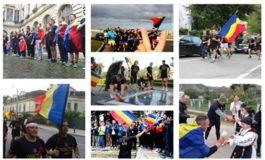 """JOI: Primirea voluntarilor """"Invictus"""" la Colegiul Naţional Militar """"Mihai Viteazul"""" din Alba Iulia şi un tur al Cetăţii"""