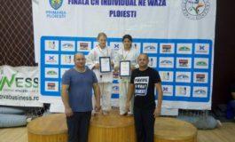 FOTO: Două sportive legitimate la CS Unirea Alba Iulia, medaliate cu argint la Campionatul Național de Judo U15, U13, U11