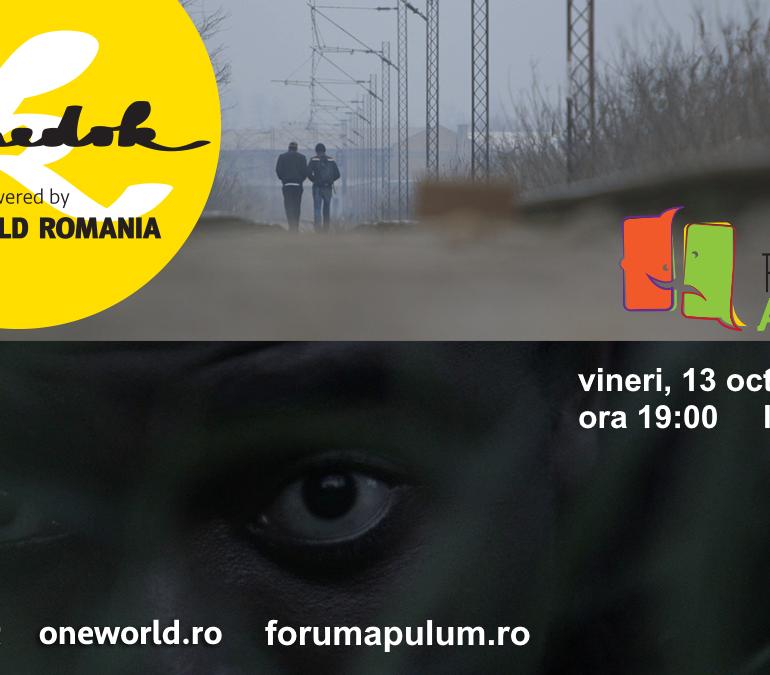 """Vineri: Seria de proiecții KineDok powered by One World România ajunge la Alba Iulia – """"Proiecții cu reflecții"""" la Forum Apulum"""