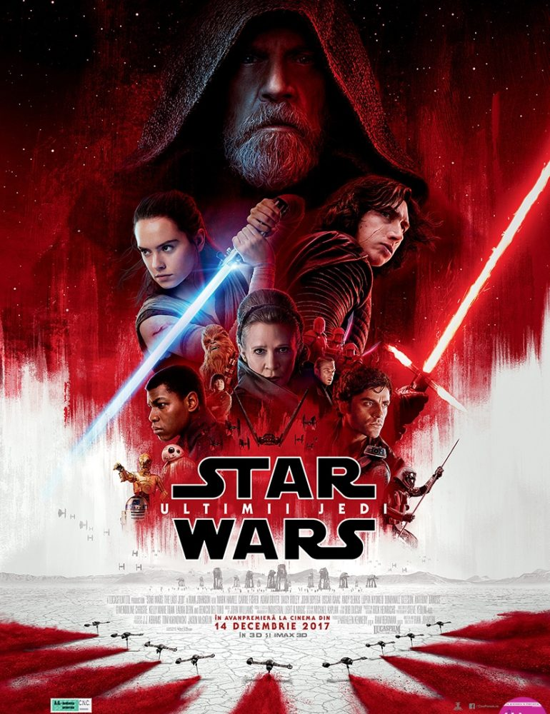 Star Wars: The Last Jedi 3D [premieră la cinema din 15 Decembrie]
