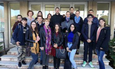 FOTO: Studenții Facultății de Drept din Alba Iulia, în vizită la Tribunal