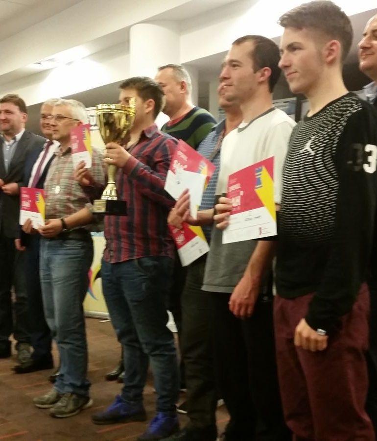 FOTO: Lev Yankelevich (Germania) învingător în Openul Internaţional al României la şah rapid