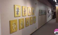 FOTO: Artistul aiudean Ştefan Balog şi-a prezentat lucrările la New Jersey