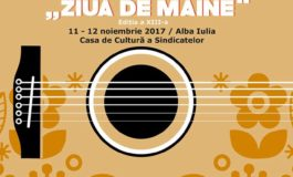 """11-12 noiembrie: Festivalul Național de Muzică Folk """"Ziua de mâine"""", la Alba Iulia. Programul evenimentului"""