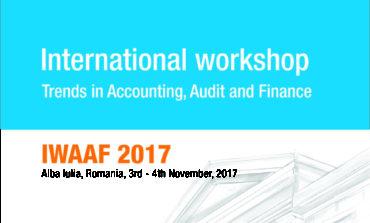 "3-4 noiembrie: ""Trends in Accounting, Audit and Finance"", workshop internațional, la Universitatea ""1 Decembrie 1918"" din Alba Iulia"