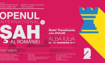 Openul Internațional al României la Șah începe luni la Alba Iulia